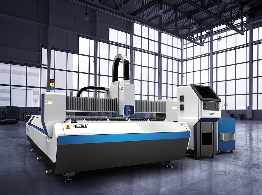 Accurl Ipg 500w Fiber Laser Cutting Machine For Metal