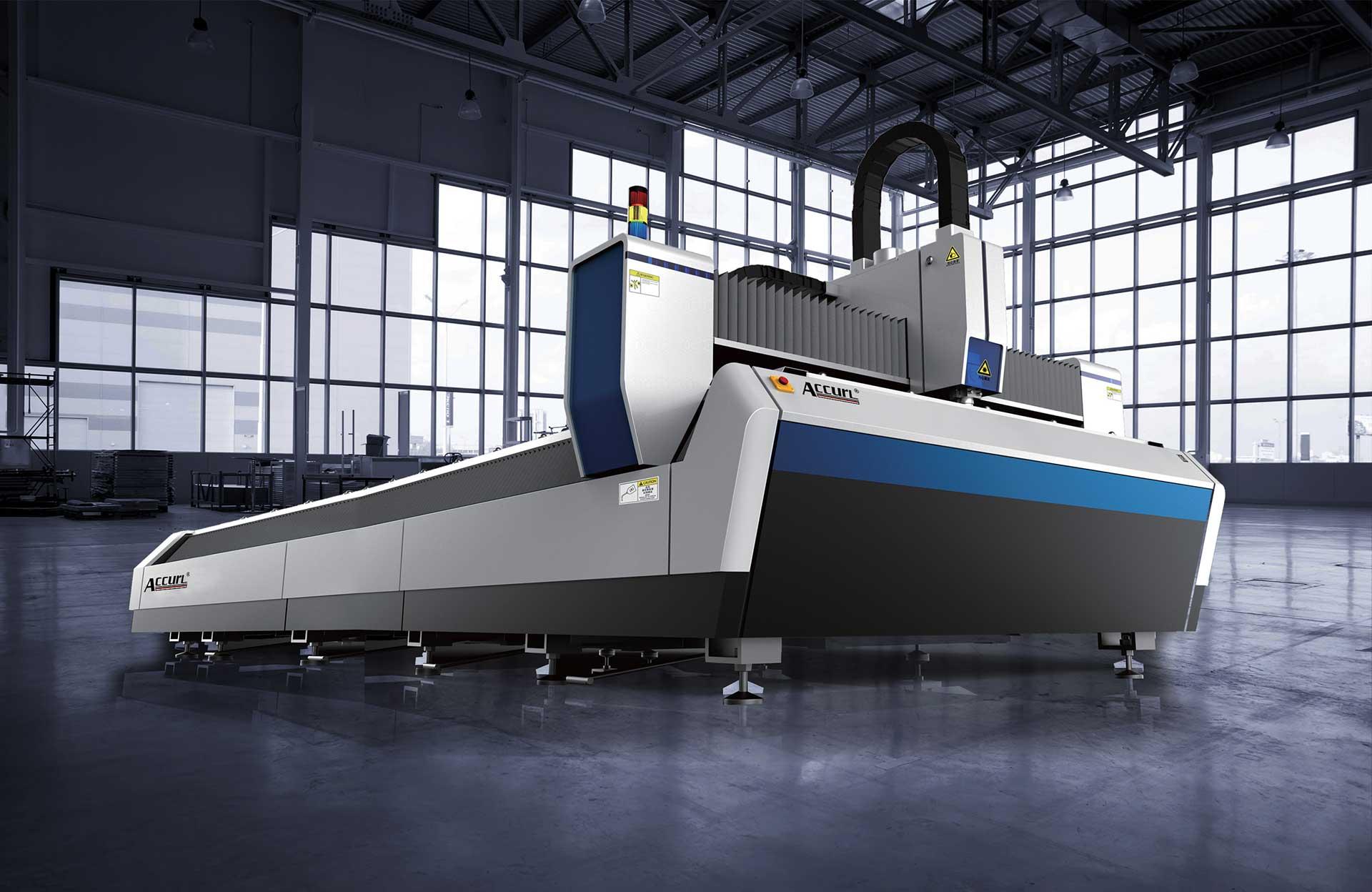 Accurl Manufacturers 1000w Fiber Cnc Laser Cutting Machine