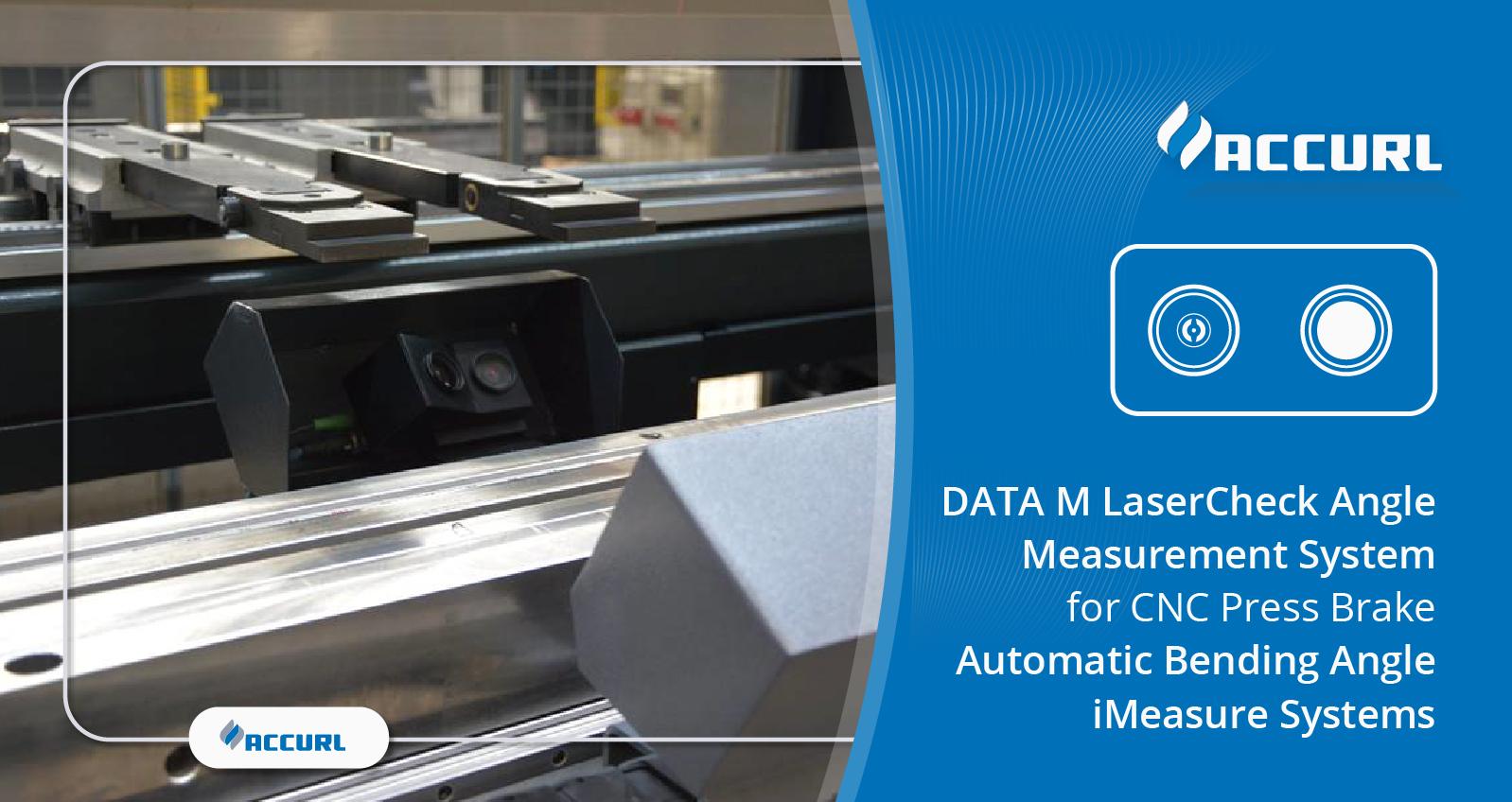 DATA M LaserCheck Angle Measurement System for CNC Press Brake Automatic Bending Angle iMeasure Systems